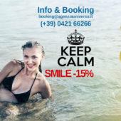 SMILE il risparmio è garantito: 15% di sconto dal 29 Agosto al 10 Ottobre 2020